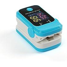 senru Fingertip Pulsioxímetro sangre la saturación de oxígeno monitor