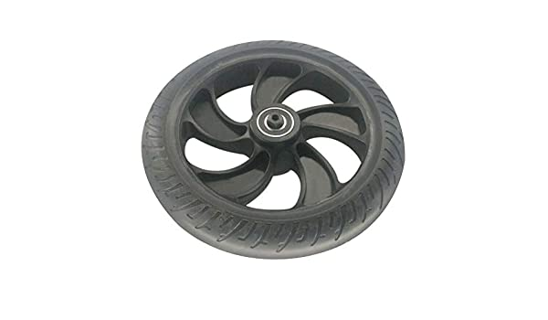 Rear Wheel 8inch sy Install Replacement Professional Back Electric Scooter Damping Lightweight Hub Spare Parts Rubber Skateboard for KUGOO S1 S2 S3