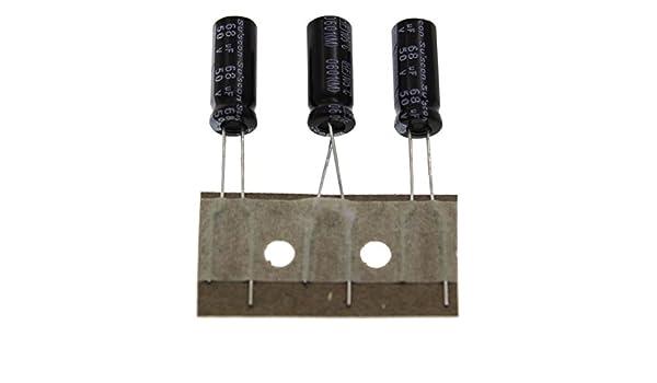 20x Elko Kondensator radial 68µF 50V 105°C ; HF050M680E15P25R ; 68uF