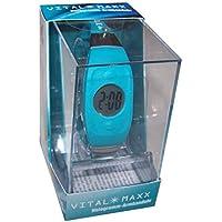Vital Maxx Armband Uhr Energie Balance Hologramm-Armbanduhr Türkis