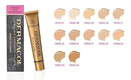 DERMACOL Hochdeckend Make UP Cover Foundation Hypoallergen, für alle Hauttypen,