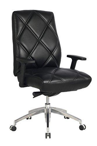 viva-office-silla-de-oficina-con-estampado-de-diamante-de-cuero-natural-regenerado-con-respaldo-alto