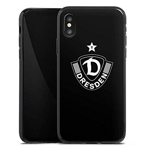 Apple iPhone SE Silikon Hülle Case Schutzhülle Dynamo Dresden Fußball Bundesliga Silikon Case schwarz