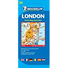 Plano London: Street Map and Index (Planos Michelin)
