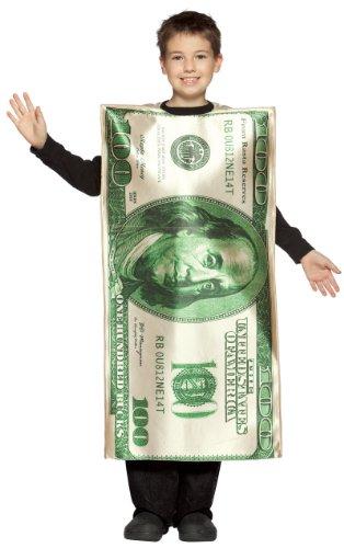 Rasta Imposta Childrens Costume, $100 Bill, 7-10 by Rasta Imposta