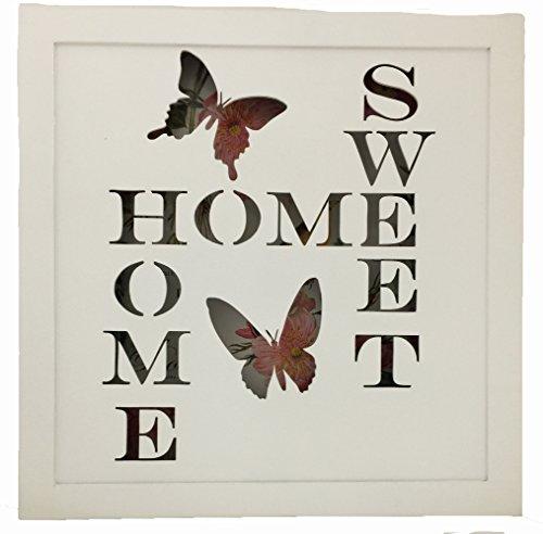 CREATIVE MOTION Batteriebetrieb Home Sweet Home Fernbedienung erleuchtet Schild (Creative Motion-lampe)