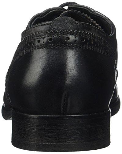 H.D. Hudson Mfg Co. Ashford Calf Black, Derby homme Noir (Black)