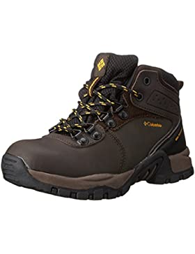 Columbia Youth Newton Ridge Waterproof, Botas De Senderismo de piel, Niños