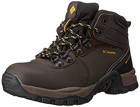 Columbia Unisex-Kinder Youth Newton Ridge Waterproof, Braun (Cordovan 231), 34 EU/2 UK (Columbia Kinder Schuhe)