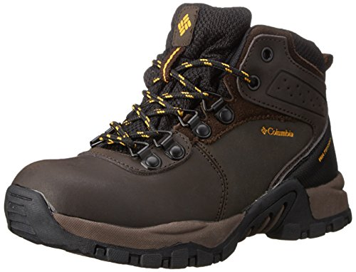 Columbia Unisex-Kinder Youth Newton Ridge Waterproof, Braun (Cordovan 231), 36 EU/3.5 UK