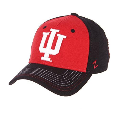 Zephyr NCAA Indiana Hoosiers Herren Mütze, Bestickt, Größe XL, Team Color (Indiana Basketball Bekleidung)