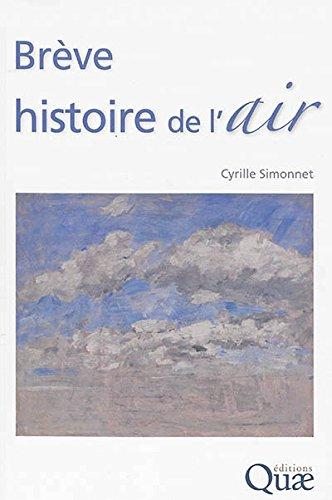 Brève histoire de l'air par Cyrille Simonnet