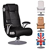 Gaming Chairs Best Deals - FineBuy sedia suono SPENCER Gaming Chair Multimedia poltrona musica rocker con built-in sistema audio