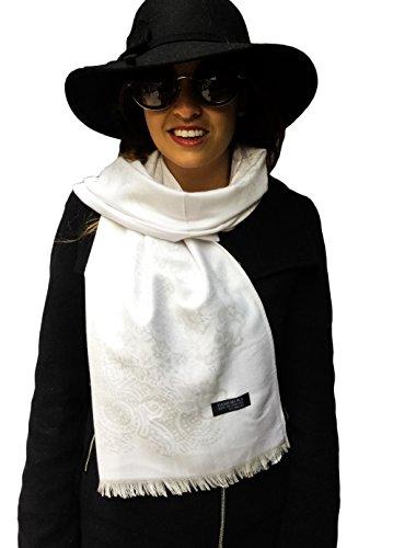 ElDragonfly - Pashmina - Femme Blanc