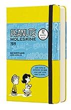 Moleskine 2019 Agenda Giornaliera Peanuts 12 Mesi, in Edizione Limitata Tascabile, Giallo