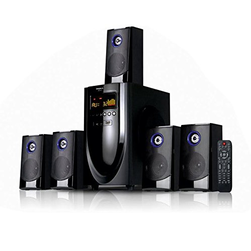 Impex 5.1 MESTO 100 W Multimedia Bluetooth Speaker System (Black)