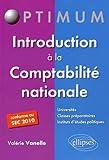 Introduction à la Comptabilité Nationale Conforme au SEC 2010