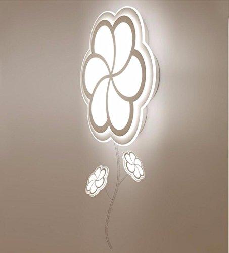 XHOPOS HOME Kinderzimmer Deckenleuchte Kinderzimmer Decke Befestigungen Acryl LED 32 W warmes Licht 52x6cm Wohnzimmer Schlafzimmer (32w-befestigung)