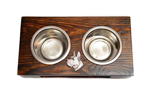 Artikelbild: Deutsche Dogge, Deutsche Dogge, Eine Hundeschale mit einem Relief von ArtDog