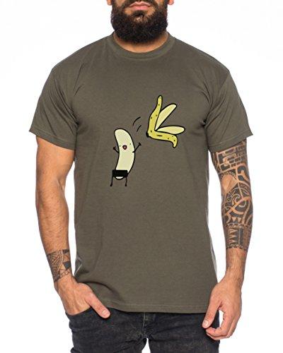 Nackte Banane Nerd Herren T-Shirt in verschiedenen Farben Khaki