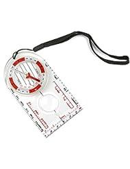 funtalker Karte Lineal Kompass für Karte lesen & Navigation leicht