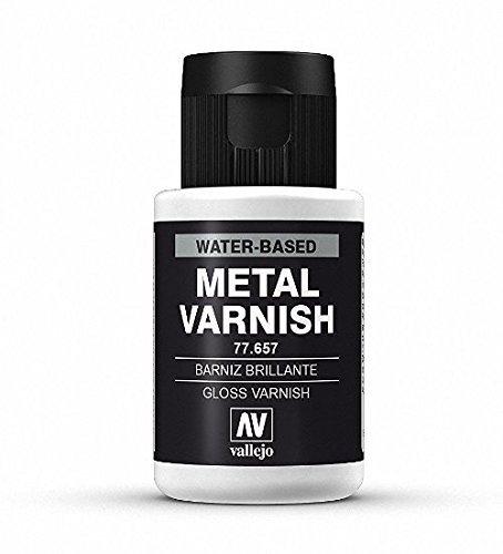 Vallejo Acrylics Metal Color - Gloss Metal Varnish 32ml by Vallejo