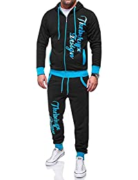 MT Styles ensemble pantalon de sport + sweat-Shirt POW jogging survêtement MA-2103