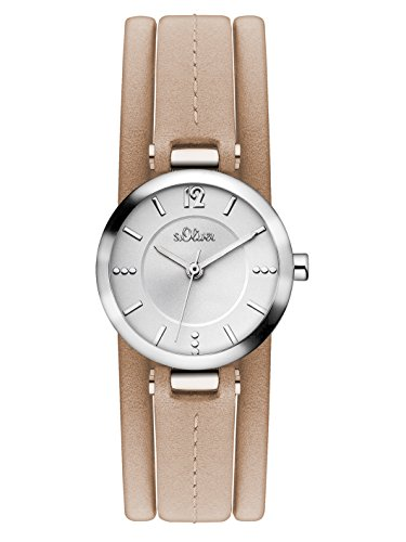 sOliver-Damen-Armbanduhr-Analog-Quarz-Leder-SO-3119-LQ
