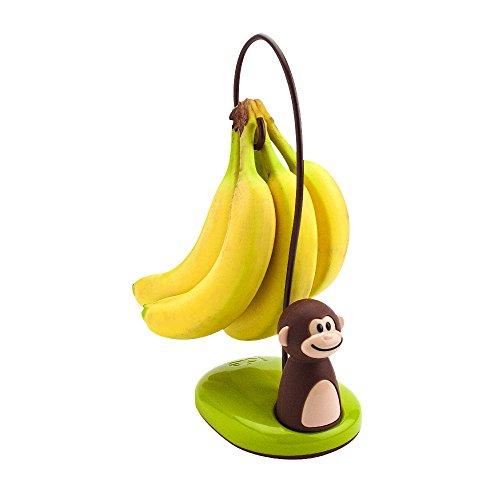 Joie 77700 Bananenständer Affe, Kunststoff, Braun, 12 x 10 x 11 cm