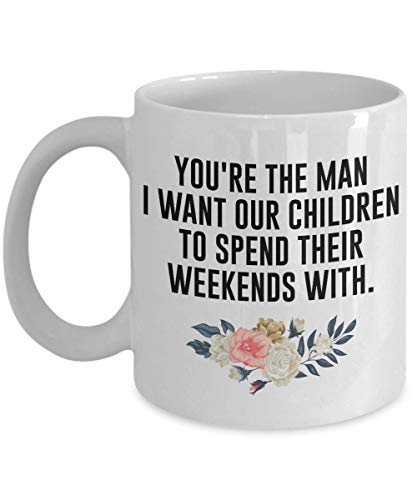 You're the man i want our children - Family Memes - Funny Parody Ceramic Mug Meme Thumbs Up Like Gift For Family - Fun Novelty Souvenir Gift