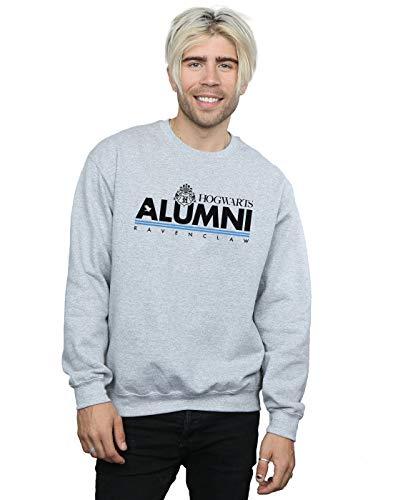 Harry Potter Herren Hogwarts Alumni Ravenclaw Sweatshirt Sport Grau XXXX-Large