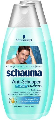 Schauma Anti-Schuppen Classic Shampoo, 2er Pack (2 x 400 ml)