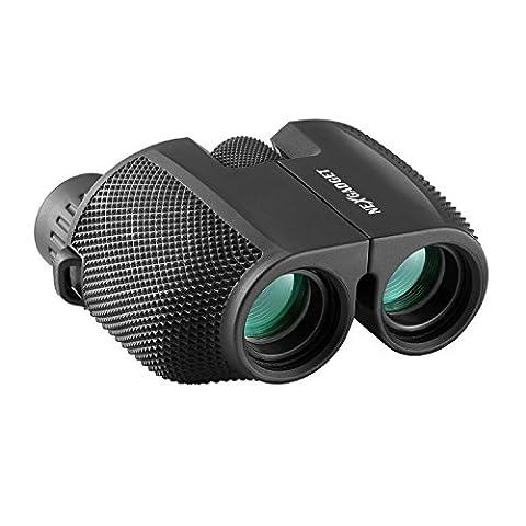 NEXGADGET-Binoculares-Porttiles-Prismticos-Mini-10-x-25-Telescopio-Ligero-Impermeable-Plegable-para-Visin-Area-con-BK7-Prismas-y-Lente-con-FMC-Recubrimiento-Multicapa