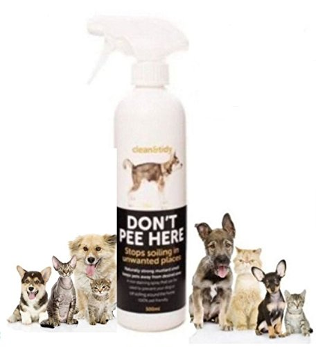 Shaples-n-Grant Dog & Cat Training Don't Pee Here Stop Soiling Urinating Deterrent Spray 500ml