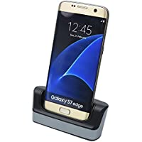 Mondpalast@ Dock docking station charging Cradle Caricabatterie per Samsung Galaxy S7 Edge S VII edge G935 G935F G935FD