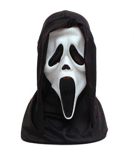 oween Glow in Dark Gummi Erwachsene Fancy Kleid Maske ()