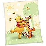 Disney Winnie l'Ourson Couverture pour bébé en polaire 130x 160cm, NEUF de Herding