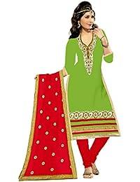 MAHI FASHION Women's Cotton Dress Material (MF29_Free Size_Multi-Coloured)