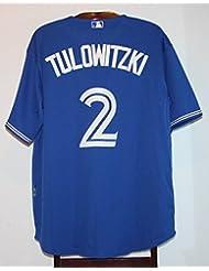Maillot Trikot Jersey Mlb Baseball Toronto Blue Jays Troy Tulowitzki XL