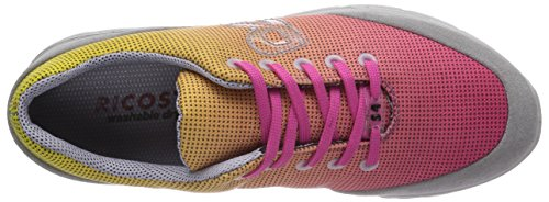 Ricosta Blake Mädchen Sneakers Pink (candy/hellgrau 330)