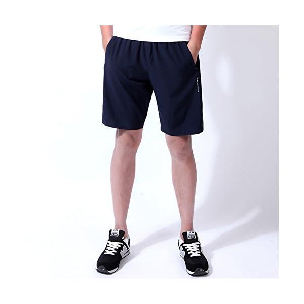 beste website beae9 7444a CLOUSPO Sporthose Herren kurz weich Soft schnelltrockend mit  Reißverschlusstasche Sport Shorts Trainingsshorts(Verpackung/MEHRWEG)