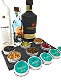 The Gin in a Tin Co. Gin Botanicals Set of 6 Gin Infusion Botanical Set with Rose Petals, Juniper Berries, Allspice – Fantastic Gin Gift Botanical and Spices Set Infuse & Garnish Your Gin and Tonic