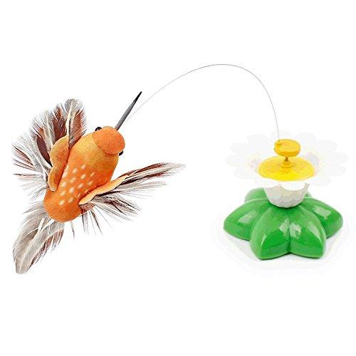 Drehender Schmetterling, Katzenspielzeug, Stahldraht, elektrisch