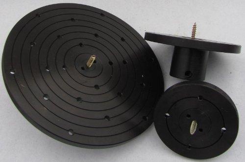 Planscheibe 90 o. 120 o. 200 mm mit Schraubenfutter M33 Drechseln Drechselbank, Durchmesser:200 mm