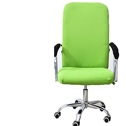 Sishe Stuhl Silpcover Stuhlabdeckungen für Bürocomputer Chefsesselabdeckung Armlehnensitzüberzüge Stoffhocker Stuhl Einteilige Spandexstuhlüberzüge-K by (Farbe : K)