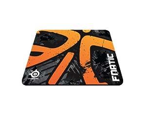 SteelSeries 63070 Qck + Fanatic Asphalt Edition (Orange)