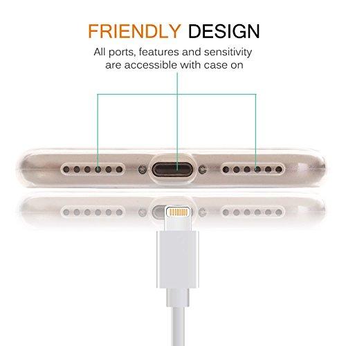 IPHONE SE 5 5S Hülle Weich Silikon TPU Schutzhülle Ultradünnen Case für iPhone 5 /5S/SE Schutz Hülle Schwarz-Schmetterlings-Mädchen