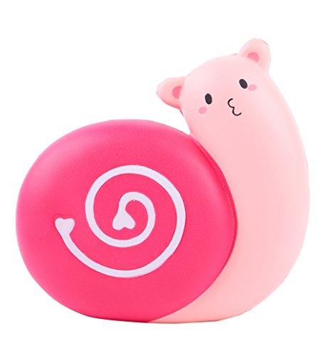 Preisvergleich Produktbild youfan Jumbo Squishies Cute rot Schnecken kawaii creme Duft sehr langsam Rising Dekompression Squeeze Spielzeug...
