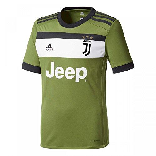 adidas Kinder Turin Replica Juventus Ausweichtrikot, Cragrn/Black, 164 (Juventus Training Turin)