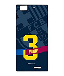 CLASSIC PIQUE Phone Cover for Lenovo K900 by Block Print Company
